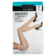Secret Collection Silky Pantyhose D Reinforced Panty Black 1 Pair