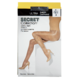 Secret Collection Ultra Sheer Pantyhose D Control Panty Nearly Black 1 Pair