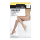 Secret Collection Ultra Sheer Pantyhose D Control Panty Black 1 Pair