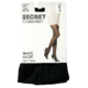 Secret Collection Shape Tights D Longline Panty Black 1 Pair