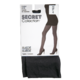 Secret Collection Suede Tights C Control Panty Black 1 Pair