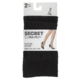 Secret Collection Cotton Black Anklet 2 Pairs