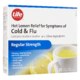 Life Brand Regular Strength Hot Lemon Relief Cold & Flu 10 Single Dose Pouches (Powder)