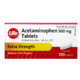 Life Brand Extra Strength Acetaminophen 500mg x 100 Caplets