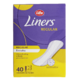 Life Brand Liners Regular Everyday Unscented 40 Pantiliners