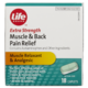 Life Brand Extra Strength Muscle & Back Pain Relief Muscle Relaxant & Analgesic 18 Caplets