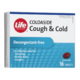 Life Brand Coldaside Cough & Cold 16 Tablets