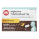 Life Brand Extra Strength Nighttime Total Cold and Flu 24 Caplets