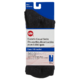 Life Brand Diabetic Casual Socks Men Crew Size 10-13 Black