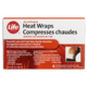 Life Brand Air Activated Heat Wraps 4 Heat Wrap Pads & 1 Reusable Fabric Wrap