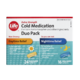 Life Brand Extra Strength Cold Medication Duo Pack 40 Caplets