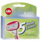 Life Brand 5 Blade Comfort Coated Blades 4 Cartridges