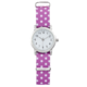 Joe Fresh Youth Silvers Round CS with Polka Dots Nylon Strap