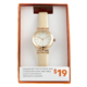 Joe Fresh Ladies Nude Strap Watch