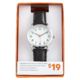 Joe Fresh Ladies Black Strap Watch