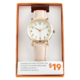 Joe Fresh Ladies Pink Strap Watch