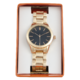 Joe Fresh Ladies Rose Gold Metal Watch