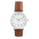 Joe Fresh Men's Brown Strap Watch