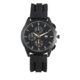 Joe Fresh Men's Black Silicone Watch