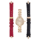Joe Fresh Ladies Rose Gold Rounded CS with Interchangeable Bracelet and Strap