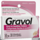 Gravol Adults Dimenhydrinate Tablets 50mg 30 Filmkote Tablets