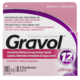 Gravol Fast Acting and Longer Lasting Antinauseant Dimenhydrinate Usp 100mg x 8 Filmkote Caplets