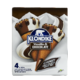 Breyers Klondike Vanilla & Chocolate Ice Cream in a Sugar Cone with Chocolatey Topping and Peanuts Vanilla and Chocolate 4 x 140mL