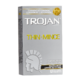 Trojan Thin Latex Condom 12 Condoms