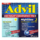 Advil Day/Night Convenience Pack Daytime Pain Reliever 24 Liqui-Gels Nighttime Pain Reliever + Sleep Aid 12 Liqui-Gels