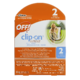 Off! Clip-On Mosquito Repellent Refill Disks 2 Refills