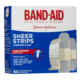 BAND-AID Sheer Strips Comfort-Flex Bandages 60 Bandages