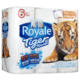 Royale Tiger Towel Paper Towel Full Sheets 6 Regular Rolls