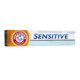 Arm & Hammer Sensitive Effective Relief for Sensitive Teeth plus Whitening Low Abrasion Toothpaste with Sodium Fluoride Freshmint Paste 120mL