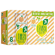 7 up Lemon Sparkling Lemonade White Peach 8 x 355 mL
