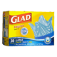 Glad Large Easy-Tie Recycling Bags 30 Bags