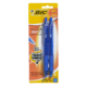 BIC Velocity Bold Ball Retractable Pen Blue 2 Pens