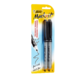 BIC Mark it Permanent Marker Fine Point Black 2 Markers