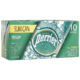 Perrier Carbonated Natural Spring Water Slim can 10 Cans