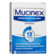 Mucinex 600 mg x 20 Guaifenesin Tablets