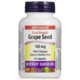 Webber Naturals Grape Seed Extra Strength 100mg x 90 Capsules