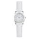 Precision Ladies Watch With White Strap