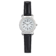 Precision Ladies Watch With Black Strap
