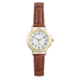 Precision Ladies Watch With Brown Strap