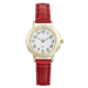 Precision Ladies Watch With Red Strap