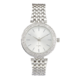 Precision Ladies Watch With Silver Link Braclet