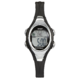 Precision Ladies Black And Silver Digital Watch