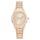 Precision Ladies Watch With Rose Gold Link Braclet