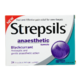 Strepsils Anaesthetic Formula Anaesthetic / Antiseptic Lozenges Blackcurrant 24 Lozenges
