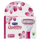 Schick Quattro for Women Peau Ultra Douce 4 Cartouches