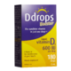 D Drops Booster Liquid Vitamin D3 600IU per Drop 180 Drops Vitamin Supplement 180 Drops